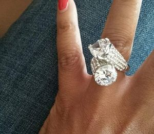 Fire and Ice Ring by Traci Lynn Jewelry